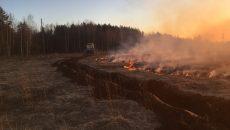Под Смоленском едва не сгорела целая деревня