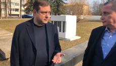 Алексей Островский отправился с инспекционной поездкой по городу Смоленску