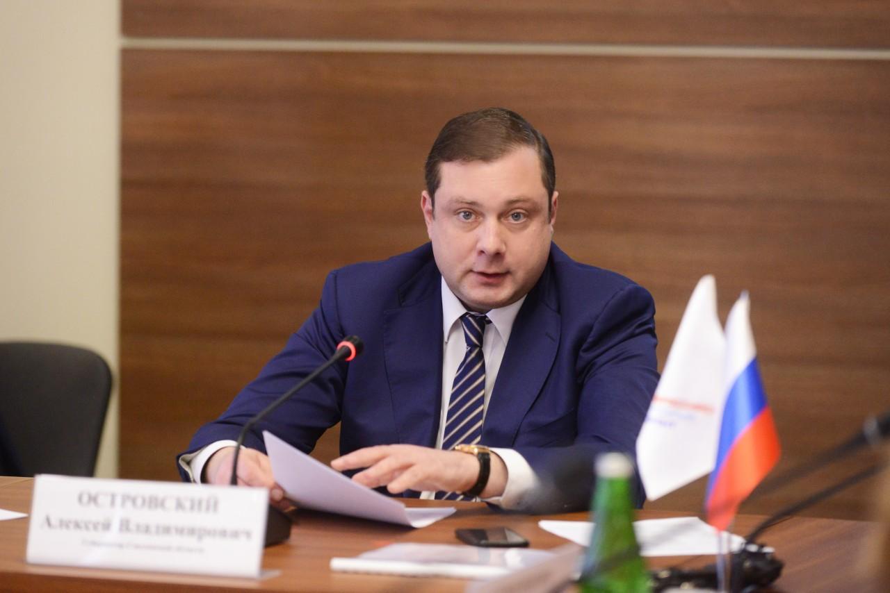 губернатор Смоленской области Алексей Островский_22