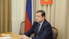 Алексей Островский принял участие в совещании губернаторов с вице-премьером Антоном Силуановым