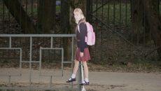 В Смоленске «картонную школьницу» посадили на цепь