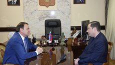 Алексей Островский пригласил в Смоленск официальную делегацию Сочи