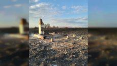 В Смоленской области сняли на видео адский пожар