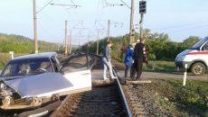 Под Смоленском в ДТП на переезде погибли пенсионеры