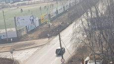 В Смоленске пешеходы напали на водителя на улице Попова