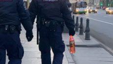 Под Смоленском нетрезвый мужчина обматерил полицейского на детской площадке