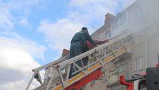 В Смоленске из-за большого задымления при пожаре госпитализировали пенсионерку