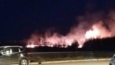 В «Новом Смоленске» произошел пожар