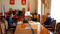 Алексей Островский посоветовал главе Смоленска опираться на мнение жителей города