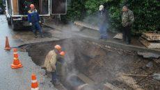 В Смоленске из-за порыва на теплосети Киселевка осталась без тепла и горячей воды