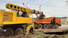 В Смоленске установили причину коммунальной аварии на на Краснинском шоссе