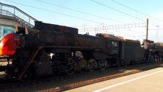 В Смоленск прибыл состав ретро-поездов