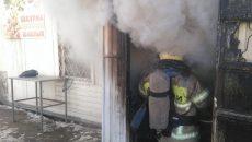 Под Смоленском на трассе М-1 сгорела шашлычная