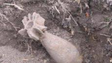 Не до шуток. Пять снарядов нашли под Смоленском 1 апреля