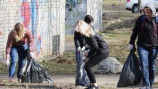 «Чистый город». В Смоленске провели субботник