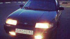 В Смоленске водитель без прав, страховки и на чужой машине совершил ДТП