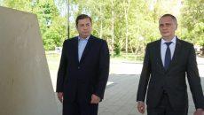 Алексей Островский потребовал привести в порядок сквер «Крылатые земляки» в Смоленске