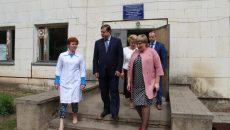 Алексей Островский посетил Катынскую врачебную амбулаторию