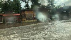Видео затопленного Смоленска появилось в Сети