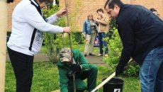 Алексей Островский принял участие в акции по озеленению парка в Смоленске
