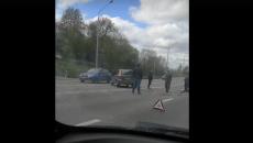 В Смоленске место серьёзного ДТП сняли на видео