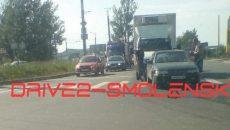В Смоленске ДТП с грузовиком перекрыло часть Волока