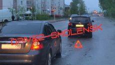 В Смоленске авария в Промышленном районе затруднила движение