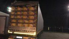 Под Смоленском задержали 40 тонн «утепленных» яблок