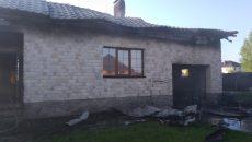 Под Смоленском ночью загорелся жилой дом