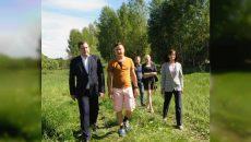 Алексей Островский встретился с участниками студенческого турслета «Не последний герой»