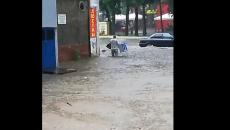 Сильный ливень и град обрушились на Смоленскую область