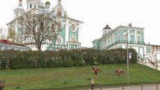 На живую надпись «Смоленск – 1156» понадобилось 5 тысяч цветов