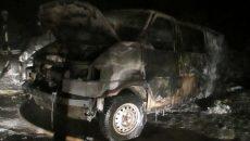 В Смоленске сгорел минивэн Volkswagen