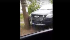 В Смоленске жесткое ДТП на Киселевке сняли на видео