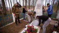 Под Смоленском участники автопробега восстановили 15 мемориалов