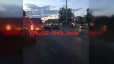 В Смоленске не поделили дорогу Шевроле и Жигули