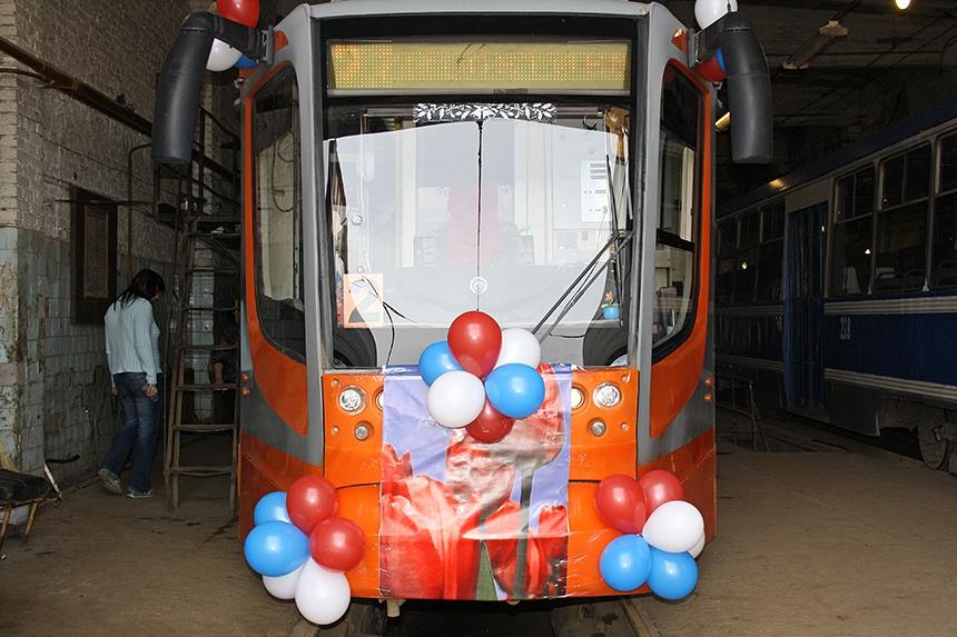 В Смоленске 8 мая отправится в рейс «Трамвай Победы»