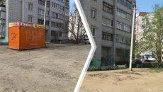 В Смоленске снесли нелегальный ларек на улице Попова