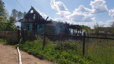 Под Смоленском дети сожгли жилой дом