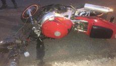 Двое пострадали в страшной аварии с мотоциклом под Смоленском