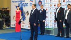 Алексей Островский поприветствовал участников крупного турнира по дзюдо