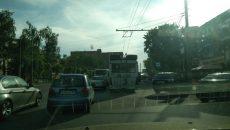 В Смоленске поломка троллейбуса создала «пробку» у оживлённого перекрёстка