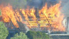 Под Смоленском на пожарище обнаружили тело погибшего