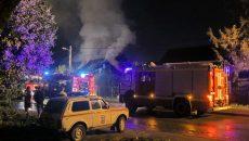 Женщина сгорела заживо в своем доме под Смоленском