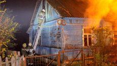 Следователи проведут проверку по факту гибели двух пенсионеров при пожаре под Смоленском