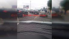 В Смоленске ДТП на выезде из города собирает «пробку»