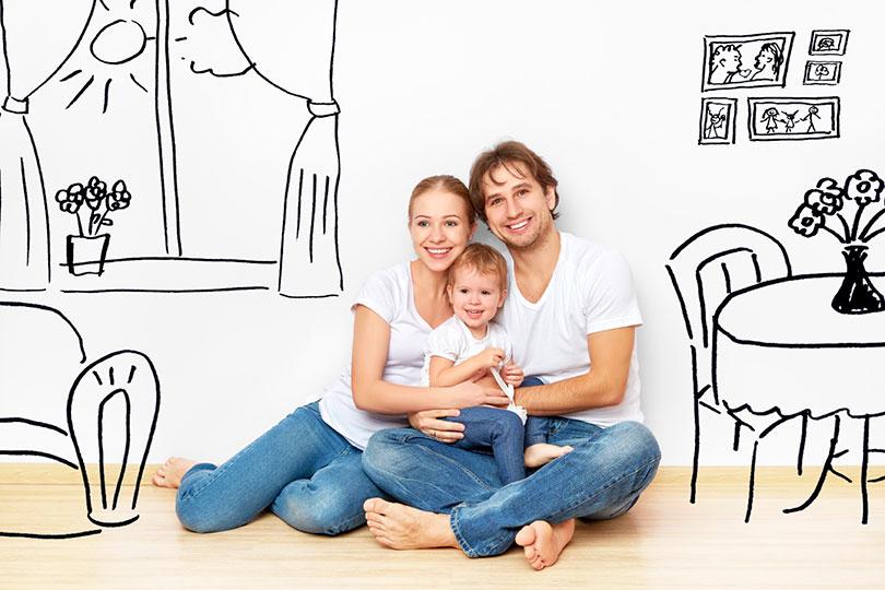семья квартира