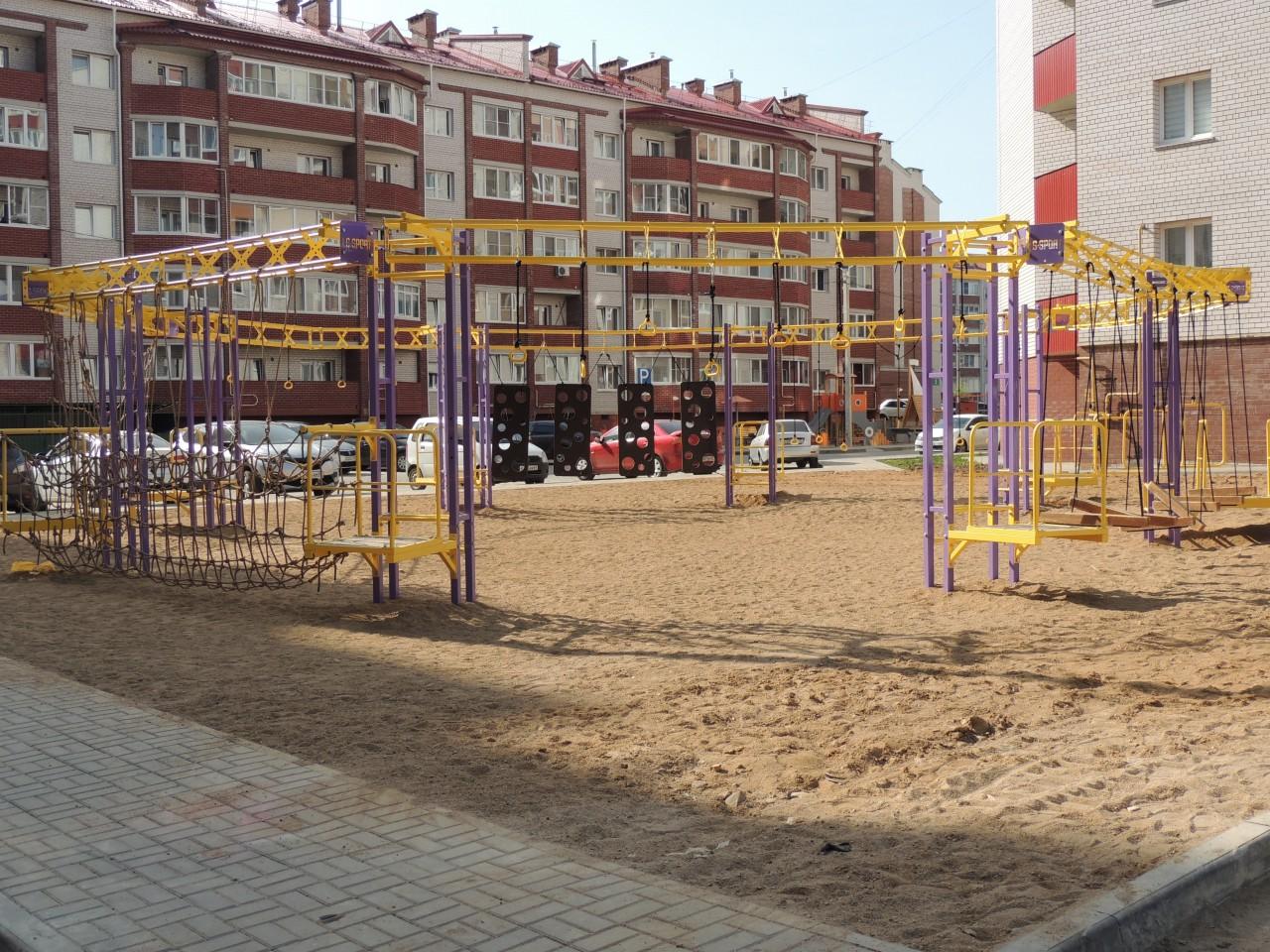 В Смоленске ещё две воркаут-площадки оборудуют в этом году