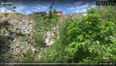В Смоленске гигантскую свалку в Реадовском парке сняли на видео
