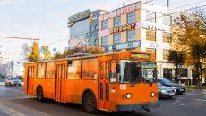 В Смоленске водитель троллейбуса зажал дверьми женщину с ребёнком